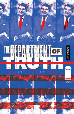 DEPARTMENT OF TRUTH #2 3RD PTG (MR) cover