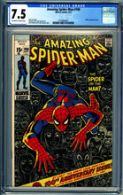 Load image into Gallery viewer, AMAZING SPIDER-MAN #100 CGC 7.5 VF- 1971 MARVEL COMICS ANNIVERSARY ISSUE