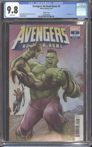 AVENGERS NO ROAD HOME #5 (2019 Marvel) CGC 9.8 NM/M Phil Noto Variant