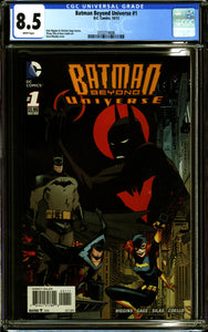 BATMAN BEYOND UNIVERSE #1 (2013 DC) CGC 8.5 VF+
