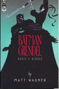 BATMAN GRENDEL #1-2 (1993 DC Dark Horse) FULL RUN COMPLETE SET Matt Wagner