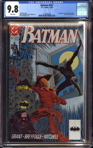 BATMAN #457 (1990 DC Comics) CGC GRADED 9.8 NM/M 1st Tim Drake Robin