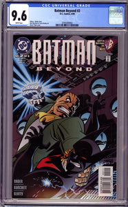 BATMAN BEYOND #2 (1999 DC Comics) CGC 9.6 NM+