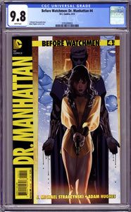 BEFORE WATCHMEN DR. MANHATTAN #4 (2013 DC Comics) CGC 9.8 NM/MT 1ST DCU