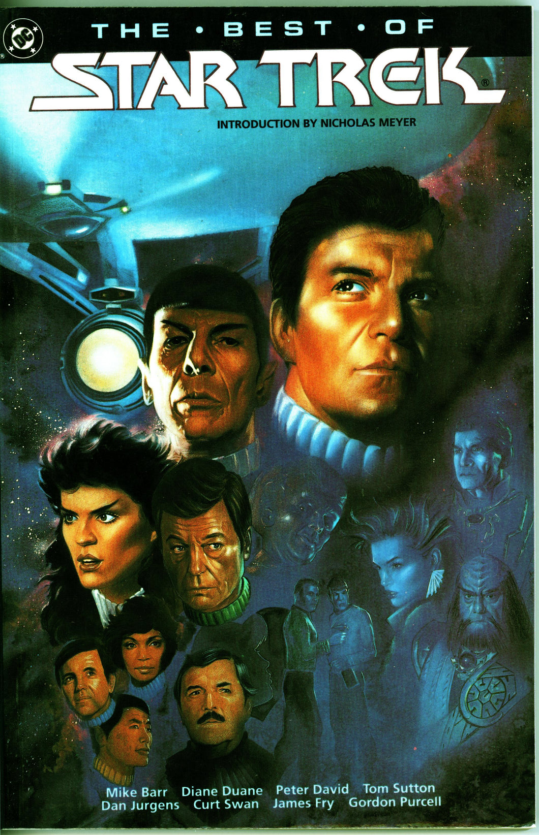 THE BEST OF STAR TREK DC GRAPHIC NOVEL- VINTAGE 1991