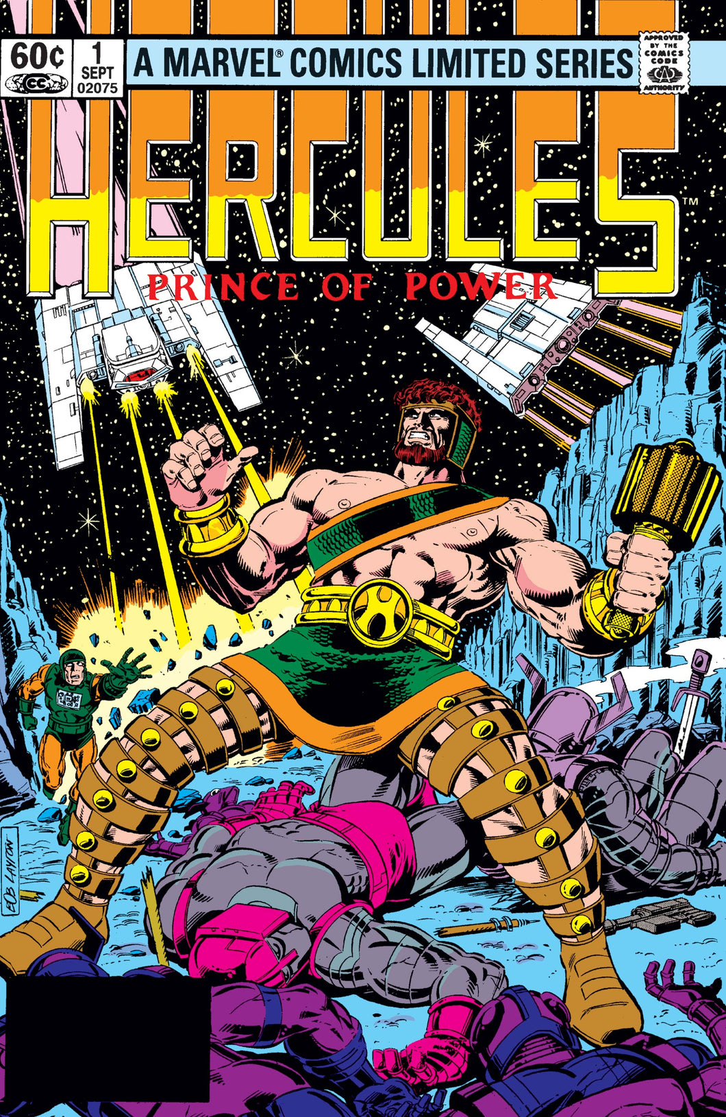HERCULES: PRINCE OF POWER (1982 Marvel Comics) #1-4 COMPLETE SET