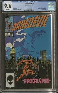 DAREDEVIL #227 (1986 Marvel) CGC GRADED 9.6 NM+ Frank Miller David Mazzucchelli