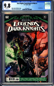 DARK NIGHTS: DEATH METAL LEGENDS O/T DARK KNIGHT #1 (2020 DC) CGC 9.8 NM/M