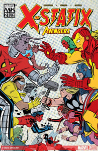 X-STATIX #21-25 VS. THE AVENGERS (Marvel 2004)