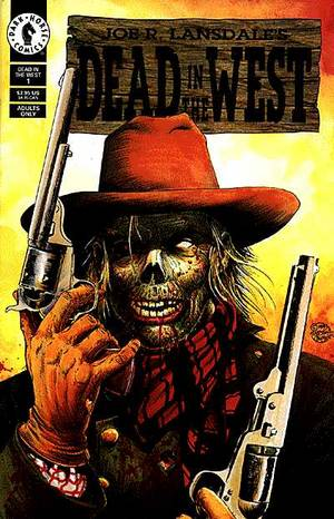JOE R. LANSDALE'S DEAD IN THE WEST #1-2 (Dark Horse 1992) COMPLETE SET