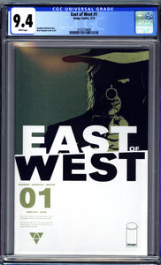 EAST OF WEST #1 (2013 Image Comics) CGC GRADED 9.4 NM
