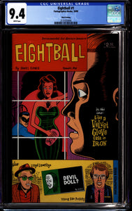 EIGHTBALL #1 (1989 Fantagraphics) CGC 9.4 NM Third Printing
