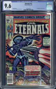 ETERNALS #11 (1977 Marvel) CGC GRADED 9.6 NM+ First Kingo Sunen Appearance