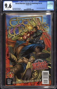 ETERNAL WARRIORS ARCHER & ARMSTRONG #1 (1997 Acclaim) CGC 9.6 NM+