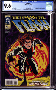 FLASH #92 (1994 DC Comics) CGC 9.6 NM+ 1ST APPEARANCE IMPULSE BART ALLEN