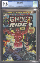 Load image into Gallery viewer, GHOST RIDER #2 (1973 Marvel) CGC 9.6 NM+ 1st Daimon Hellstrom Son of Satan