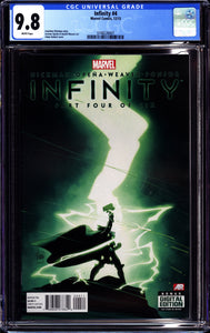 INFINITY #4 (2013 Marvel) CGC 9.8 NM/M