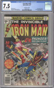 IRON MAN #103 CGC 7.5 VF- RARE MARVEL 35 CENT COVER PRICE VARIANT 1977