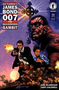 IAN FLEMING'S JAMES BOND 007 THE QUASIMODO GAMBIT #1-3 (Dark Horse 1995) COMPLETE SET