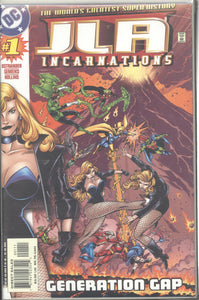 JLA INCARNATIONS (2001 DC) #1-7 COMPLETE SET