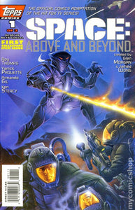 SPACE: ABOVE AND BEYOND #1-3 (Topps 1996) COMPLETE SET