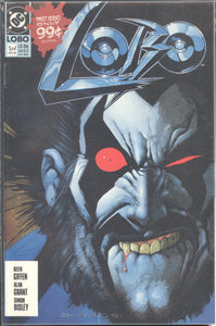 LOBO (1990 DC Comics) #1-4 COMPLETE SET First Series!