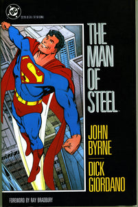 MAN OF STEEL DC GRAPHIC NOVEL- VINTAGE 1987 JOHN BYRNE