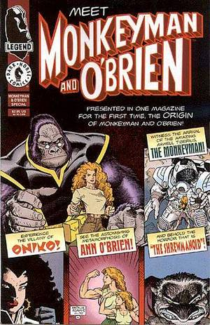MONKEYMAN & O'BRIEN #1-3 PLUS SPECIAL (Dark Horse 1996) COMPLETE SET