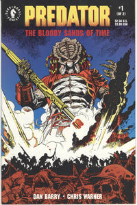 PREDATOR: BLOODY SANDS OF TIME #1-2 (1992 Dark Horse) FULL COMPLETE SET