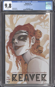 REAVER #1 (2019 Image/Skybound) CGC 9.8 NM/M Becky Cloonan Cover