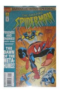 AMAZING SPIDER-MAN FRIENDS & ENEMIES #1-4 (Marvel 1995) COMPLETE SET