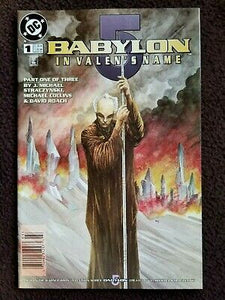 BABYLON 5 IN VALEN'S NAME #1-3 (DC 1998) COMPLETE SET