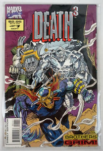 DEATH 3 #1-4 (Marvel 1993) COMPLETE SET