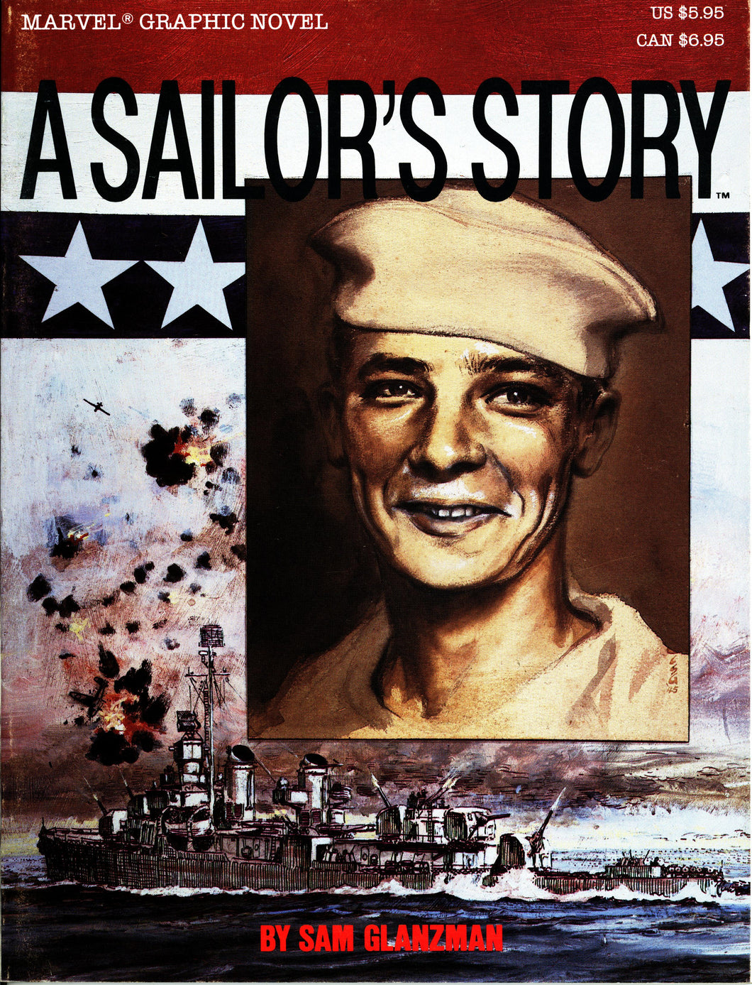 A SAILOR'S STORY MARVEL GRAPHIC NOVEL- VINTAGE