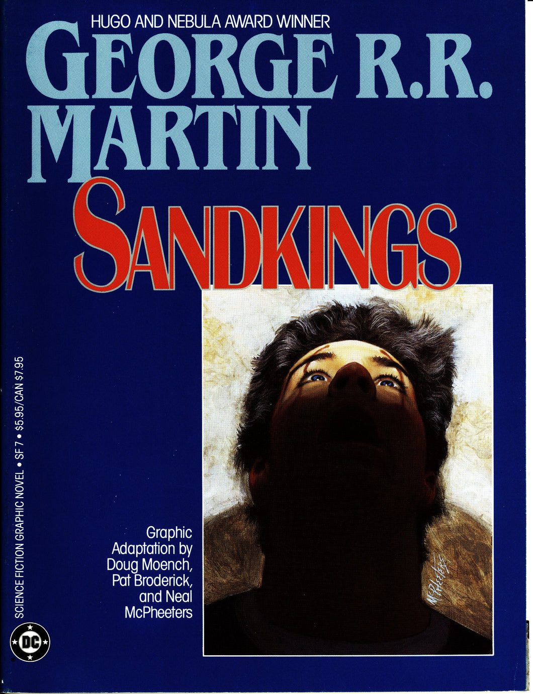 GEORGE R.R. MARTIN SANDKINGS DC GRAPHIC NOVEL- VINTAGE 1987