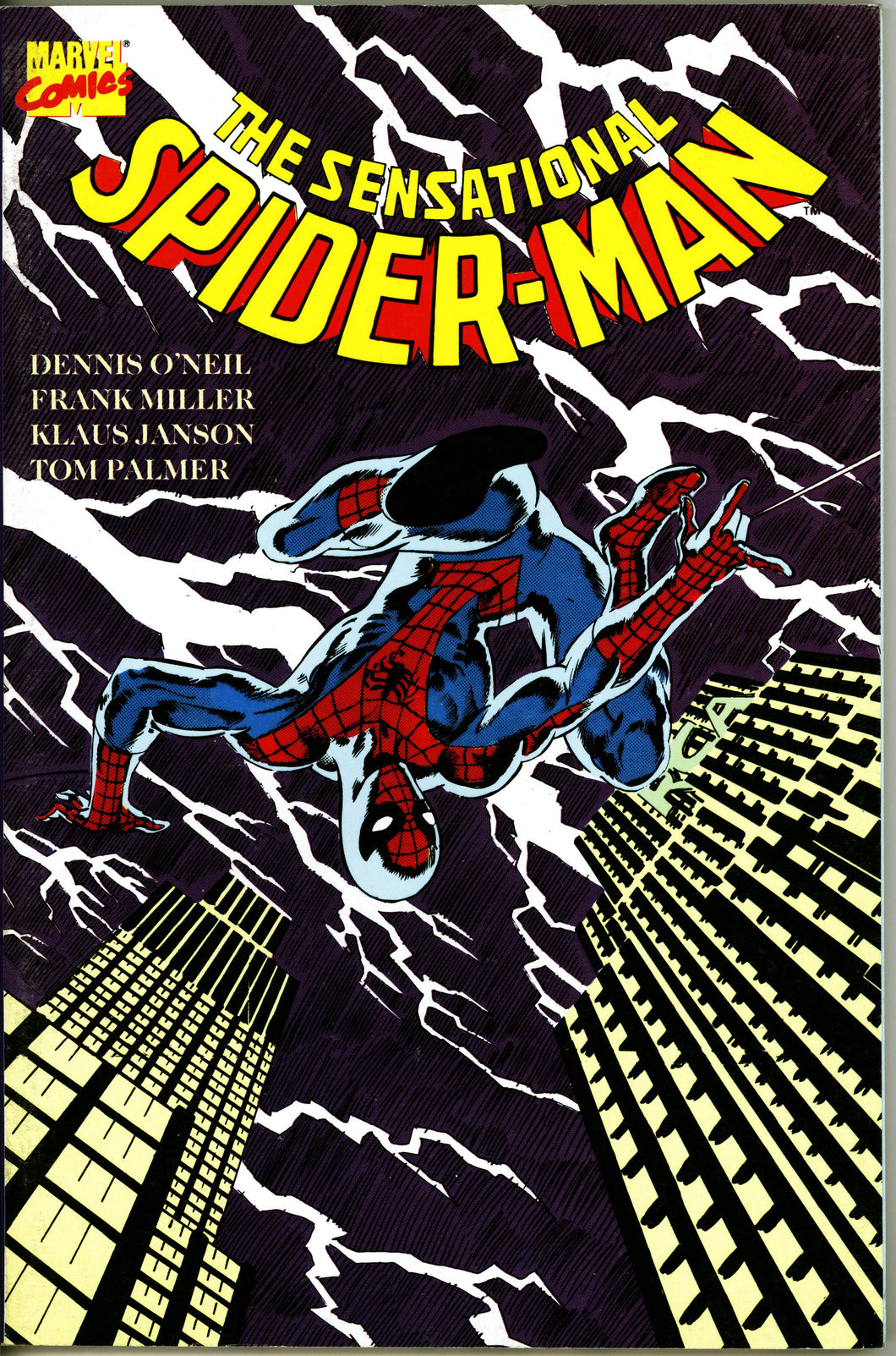 SENSATIONAL SPIDER-MAN MARVEL GRAPHIC NOVEL- VINTAGE 1988