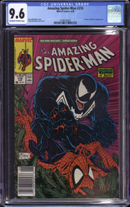 AMAZING SPIDER-MAN #316 (1989 Marvel) CGC 9.6 NM+ 1st Venom Cover NEWSSTAND