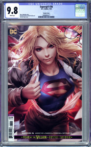 SUPERGIRL #36 CHEW VARIANT COVER CGC 9.8 NM/MT (2020 DC COMICS)