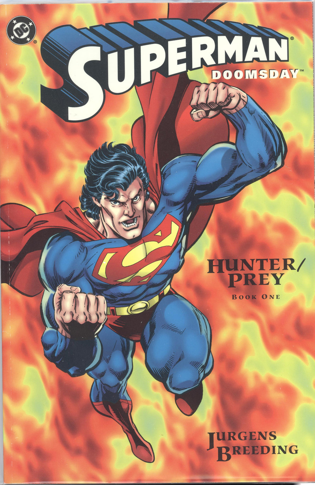 SUPERMAN DOOMSDAY: HUNTER PREY (1994 DC Comics) #1-3 COMPLETE SET