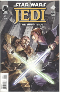 STAR WARS JEDI: DARK SIDE (2011 Dark Horse) #1-5 COMPLETE SET