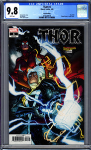 THOR #4 (2020 Marvel) CGC 9.8 NM/M VARIANT COVER