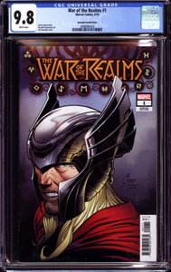 WAR OF THE REALMS #1 QUESADA VARIANT (2019 Marvel) CGC GRADED 9.8 NM/MT DONNY CATES