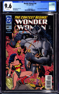 WONDER WOMAN #90 (1994 DC Comics) CGC 9.6 NM+ 1st Artemis Appearance