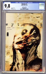 WYTCHES #1 (Image Comics) CGC GRADED 9.8 NM/M Ghost Variant Scott Snyder
