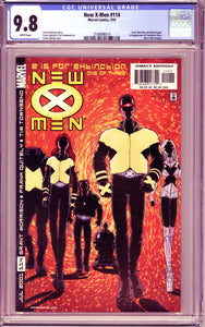 NEW X-MEN #114 (2001 Marvel) CGC 9.8 NM/M Morrison Quitely 1st Cassandra Nova