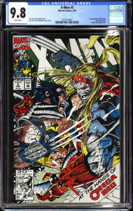 X-MEN #5 (1992 Marvel Comics) CGC 9.8 NM/M 1ST APPEARANCE MAVERICK