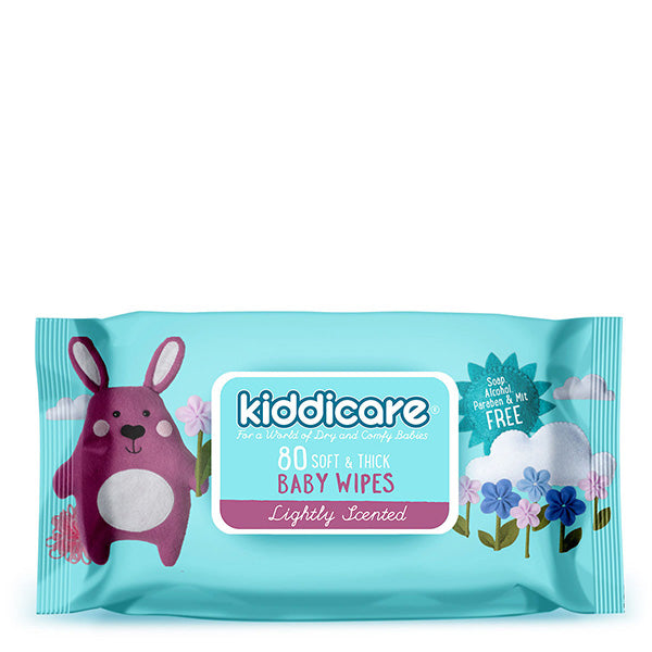 Kiddicare Baby Wipes - Lightly Scented - Bruntwood Lane