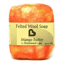 Load image into Gallery viewer, Mango Butter Felted Wool Soap by Bruntwood Lane