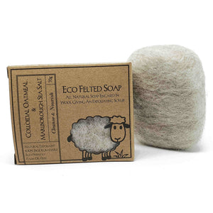 Eco Felted Soap - Colloidal Oatmeal & Marlborough Sea Salt