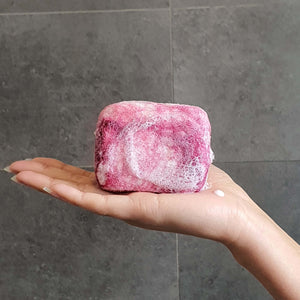 Exfoliating felted soap by Bruntwood Lane - Berry Crush Natural